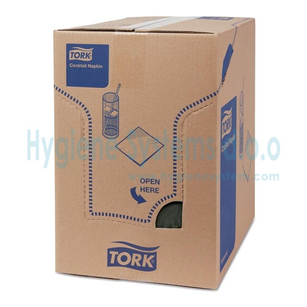 Tork Advanced salvete, koktel, crne 477829 - Advanced salvete, koktel, crne